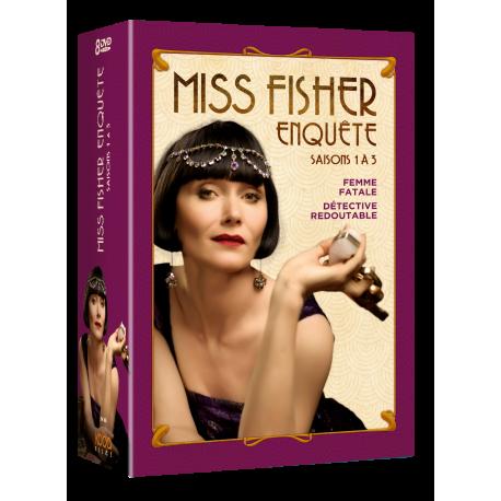 MISS FISHER ENQUETE - Saisons 1 à 3-Packshot