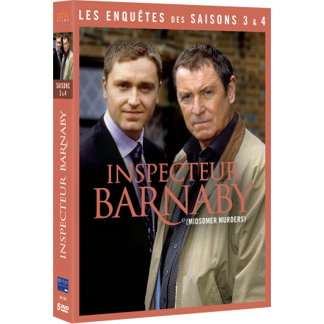 INSPECTEUR BARNABY - Saisons 3 et 4