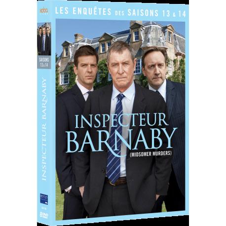 INSPECTEUR BARNABY - Saisons 13 et 14
