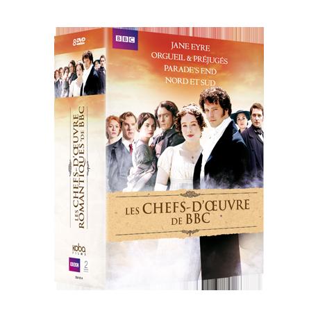 COFFRET LES CHEFS D'OEUVRE DE BBC