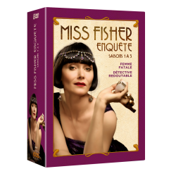 MISS FISHER ENQUETE - Saisons 1 à 3-Packshot