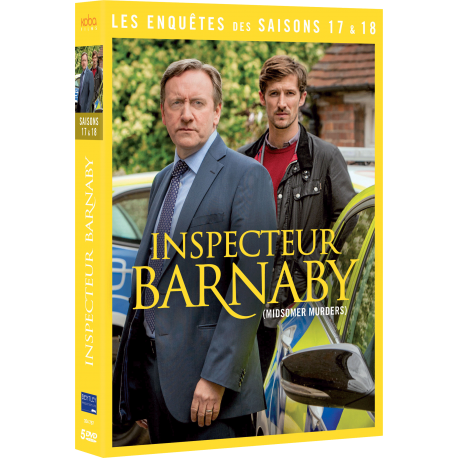 INSPECTEUR BARNABY - Saisons 17 et 18