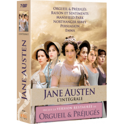 COFFRET JANE AUSTEN L'INTEGRALE nouvelle edition