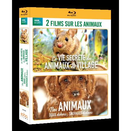 Coffret LA VIE SECRÈTE DES ANIMAUX DU VILLAGE + NOS ANIMAUX, DOUX DEH
