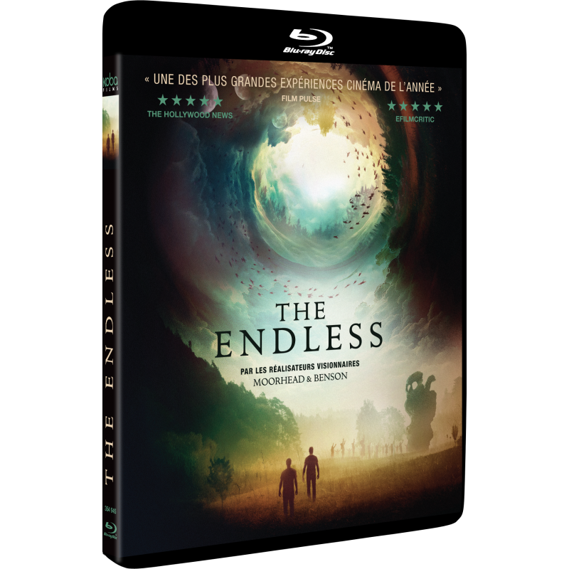 blu-ray du film The endless