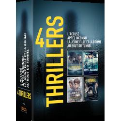 Coffret 4 FILMS POLICIERS ESPAGNOLS
