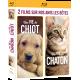 Coffret UNE VIE DE CHIOT et UNE VIE DE CHATON Blu-Ray