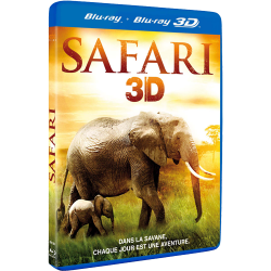 SAFARI 3D - BLU-RAY