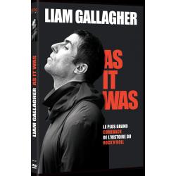 LIAM GALLAGHER - DVD-Packshot