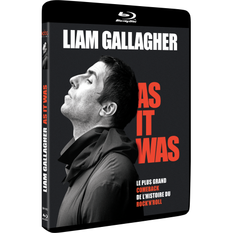 LIAM GALLAGHER - Blu Ray-Packshot