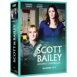 SCOTT & BAILEY SAISONS 1 A 3