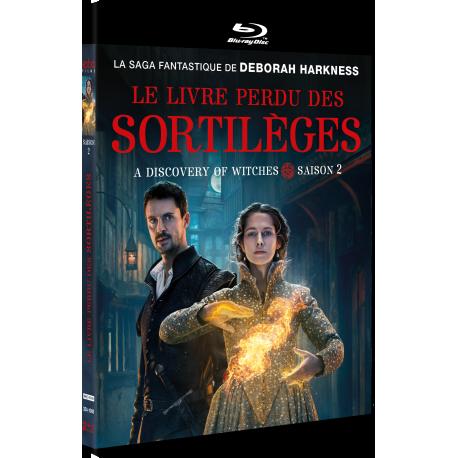 LE LIVRE PERDU DES SORTILÈGES saison 2 (BLU-RAY)