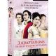 COFFRET 3 ADAPTATIONS DE CHEFS-D'OEUVRE LITTERAIRES