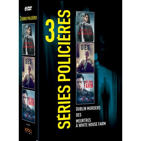 Coffret 3 SERIES POLICIERES