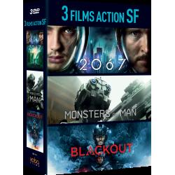 Coffret 3 FILMS ACTION SF